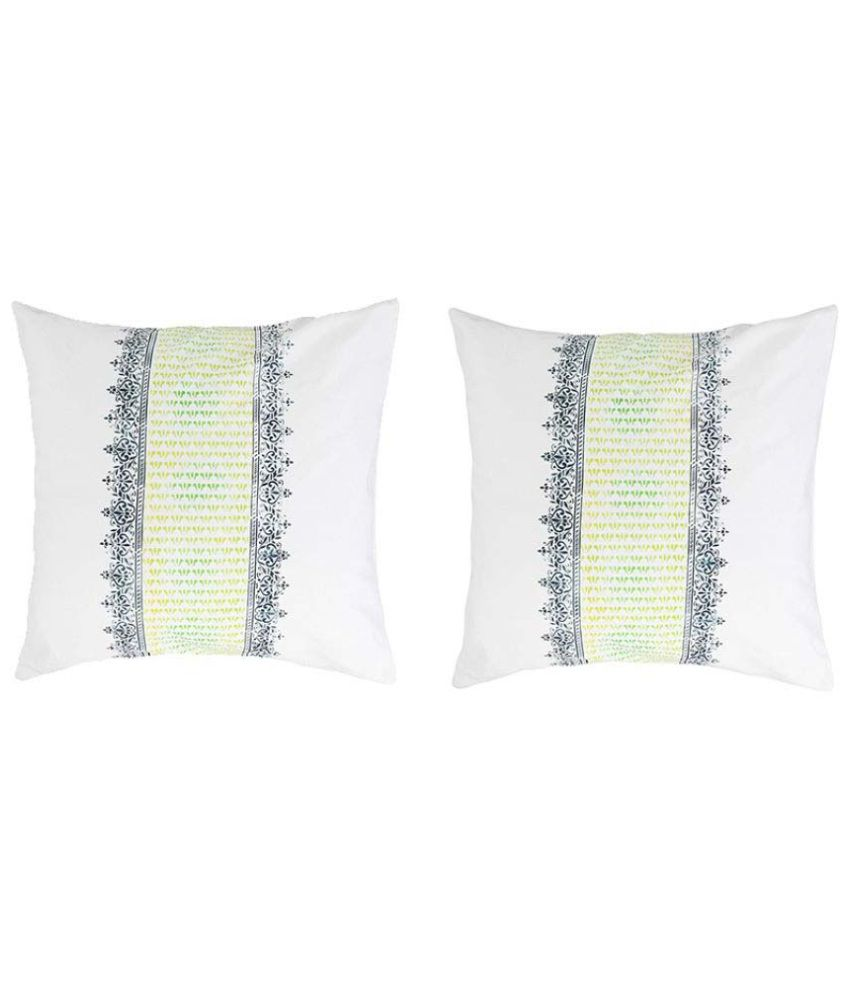 Rang Rage Set of 2 Cotton Cushion Covers