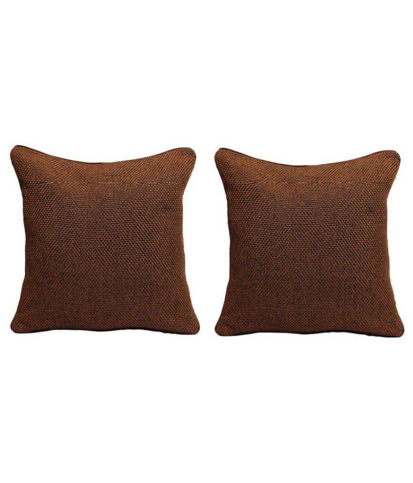 Rang Rage Set of 2 Jute Cushion Covers