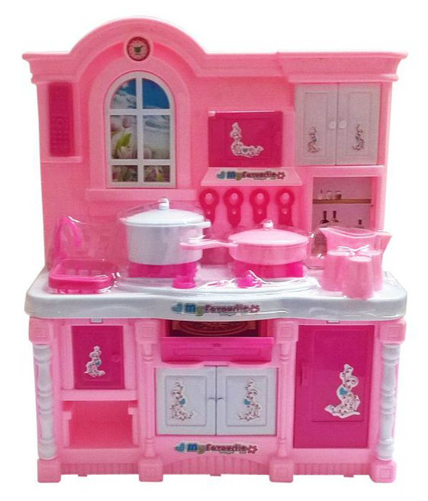 Tickles pink baby kitchen set buy tickles pink baby for Kitchen set for babies