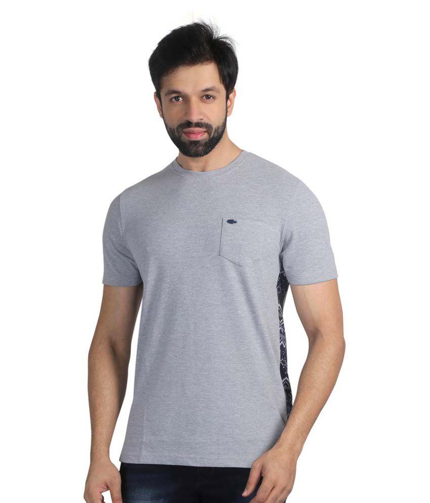 Nostrum Jeans Grey Round T-Shirt