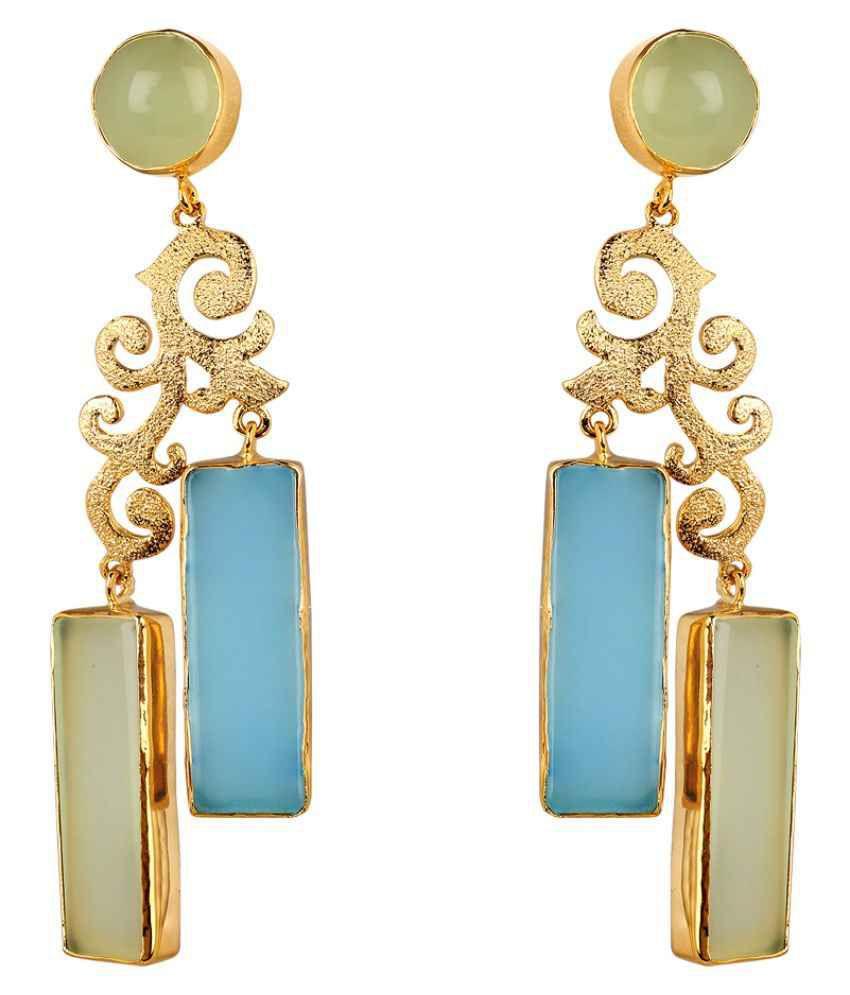 Shaze Multicolour Hanging Earrings