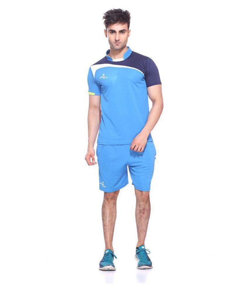 Sport Sun Blue T-Shirt with Shorts