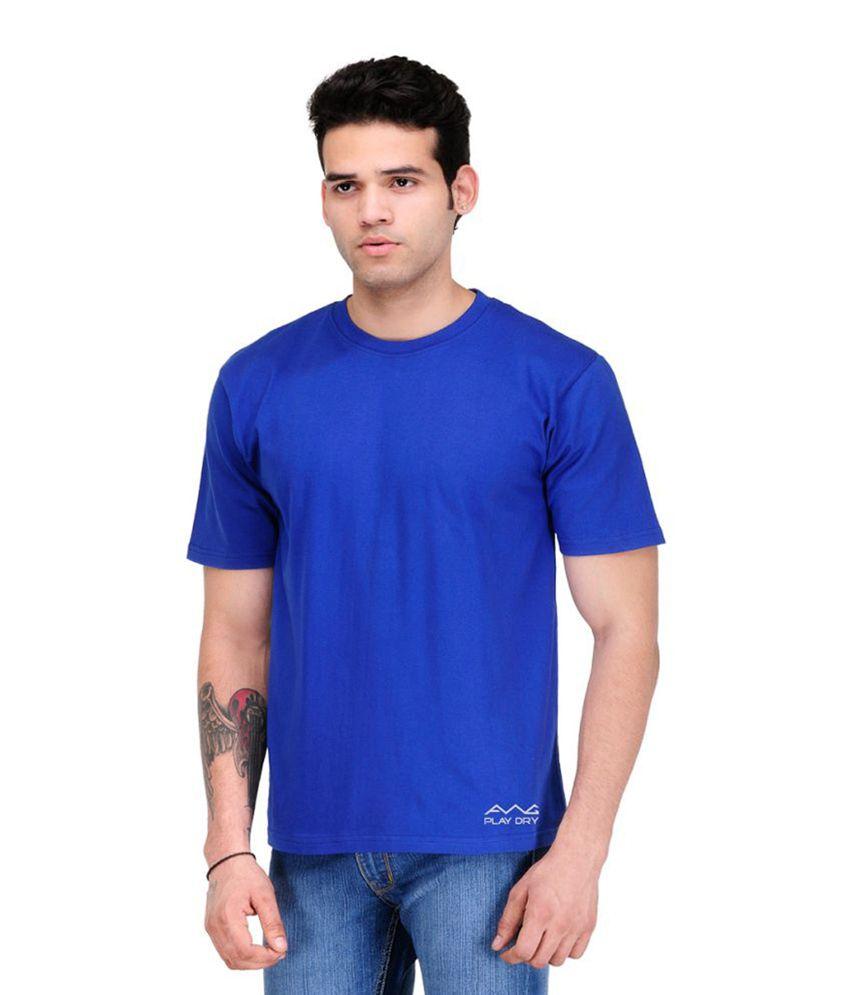 AWG Blue Round T-Shirt
