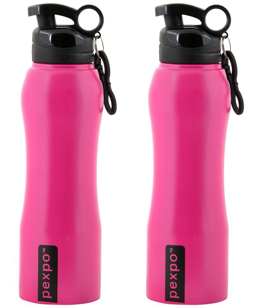d6f5a18288 Zafos Zafos Sipper Pink 750 Sports Sipper Set of 2: Buy Online at Best  Price in India - Snapdeal