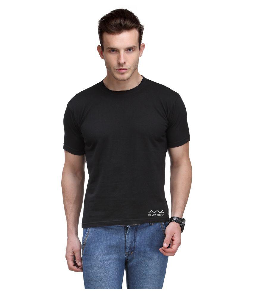 AWG Black Round T-Shirt