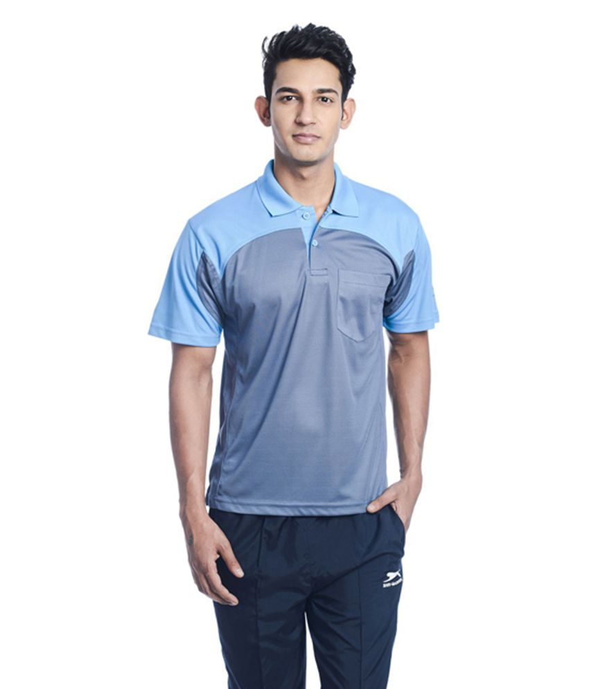 Shiv Naresh Solid Men's Polo Neck T-Shirt