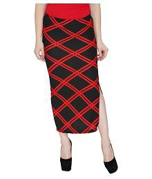 4d8f1d50c Quick View. Svt Ada Collections Multi Color Poly Viscose Bodycon Skirts