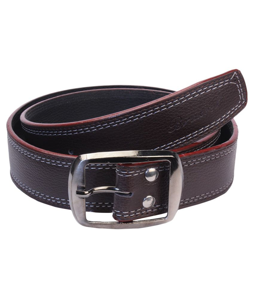 CAY Brown Leather Casual Belts
