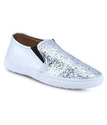 bd481b08d5e Silver Casual Shoes  Buy Silver Casual Shoes for Women Online at Low ...