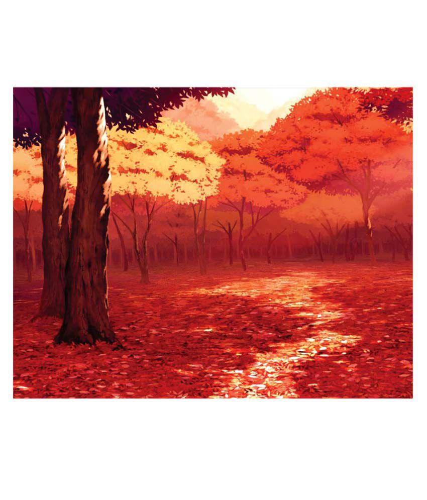 Sleep Nature's Landscape Canvas Art Prints Without Frame Single Piece