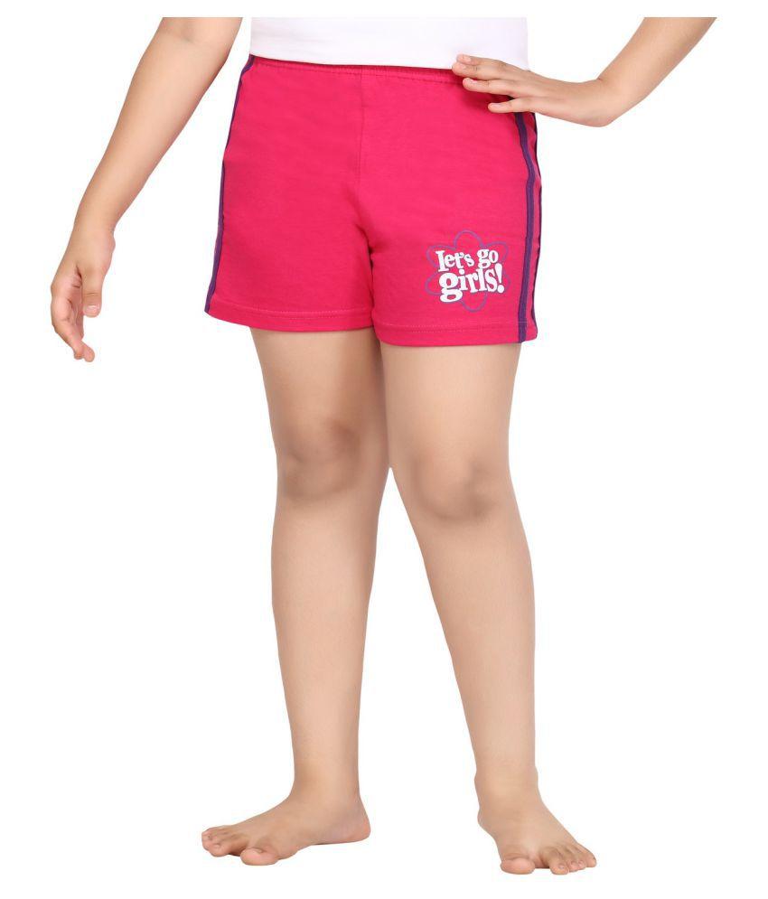 Punkster Pink Cotton Short