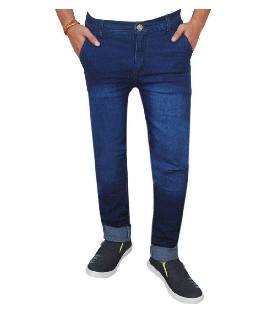 Inspire Next Blue Regular Fit Solid