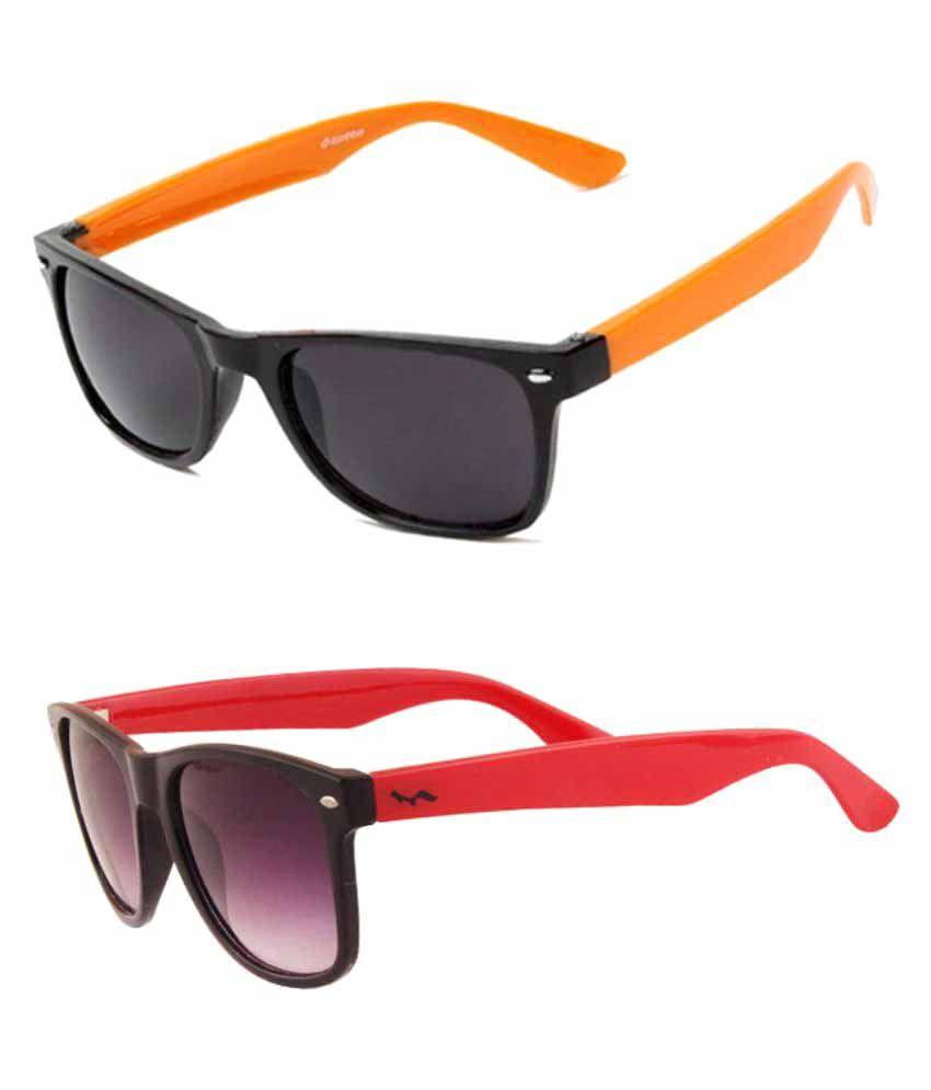 Lotto Multicolor Wayfarer Sunglasses ( LT-101 )