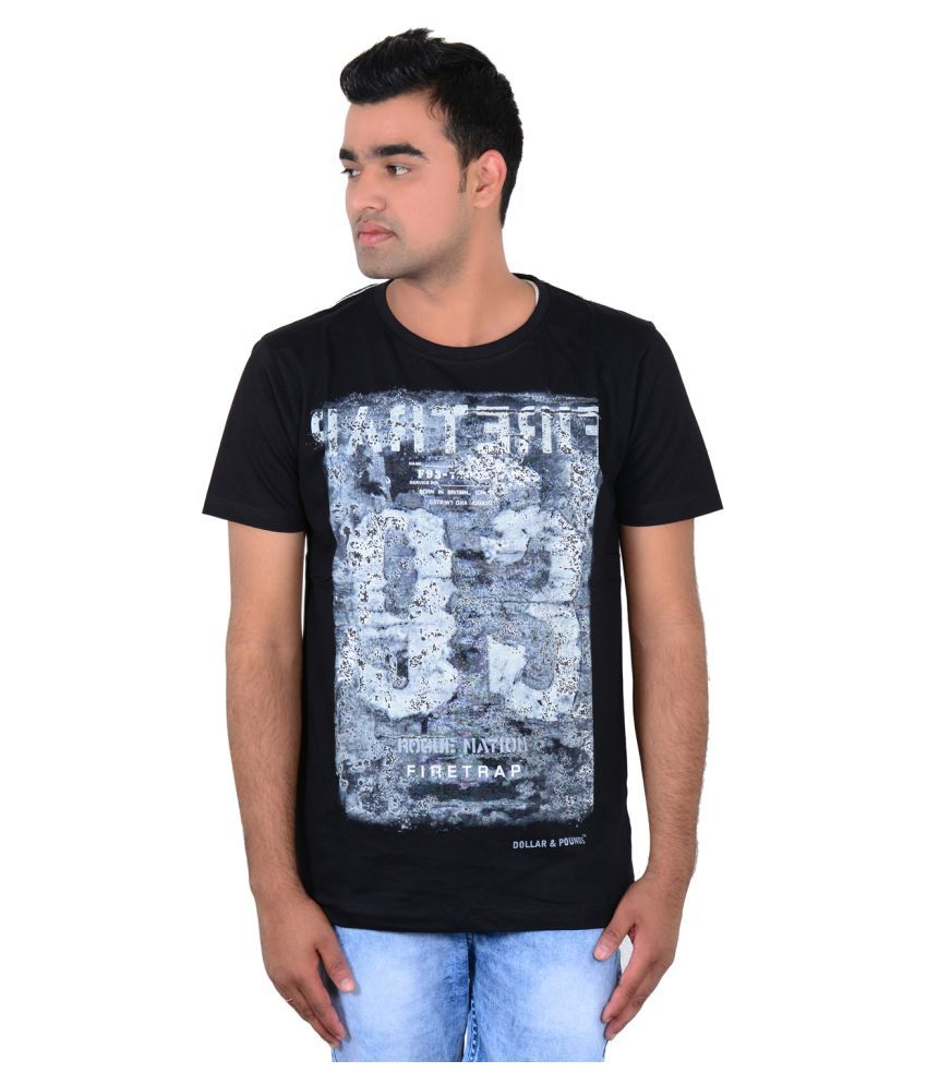 Zeba Corp Black Round T-Shirt