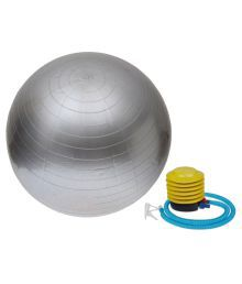 Smart Pro Gym Ball 55 Cm Anti Burst - Silver