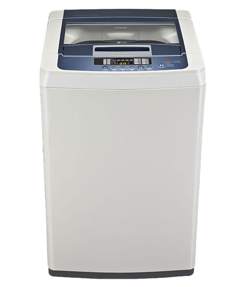 LG 6.2 T7267TDDLL Fully Automatic Fully Automatic Top Load Washing Machine Silver