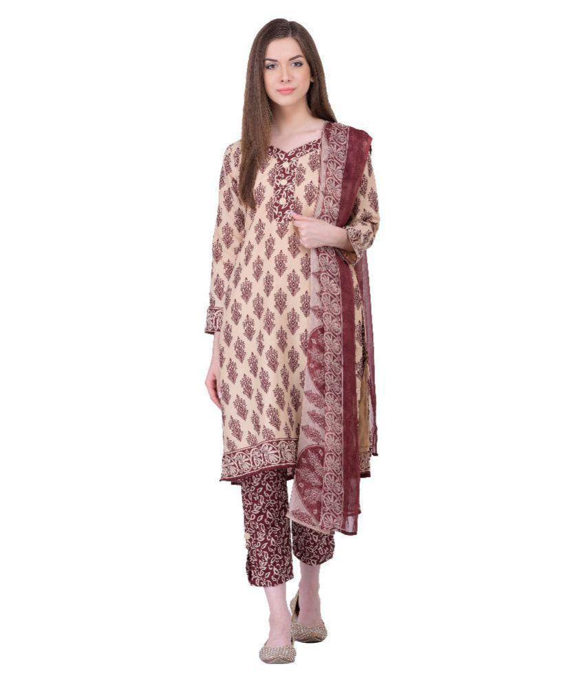 32f3448fc7 Surat Wholesale Shop Multicoloured Cotton Dress Material - Buy Surat  Wholesale Shop Multicoloured Cotton Dress Material Online at Best Prices in  India on ...