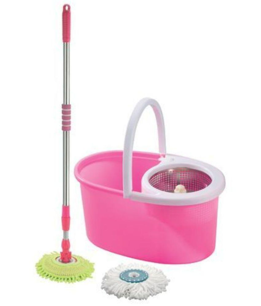 SKI CLEANING Multi-Colour Single Bucket Mop Ideal For Cleaning:All ...