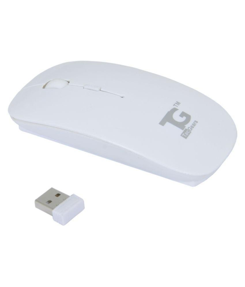 TacGears Cutie White Wireless Mouse