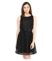 The Vanca Black Net Dresses