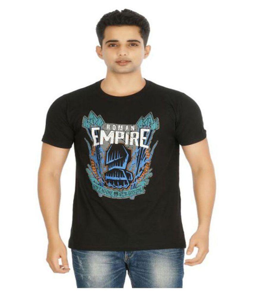 Tshirt Company Black Round T-Shirt