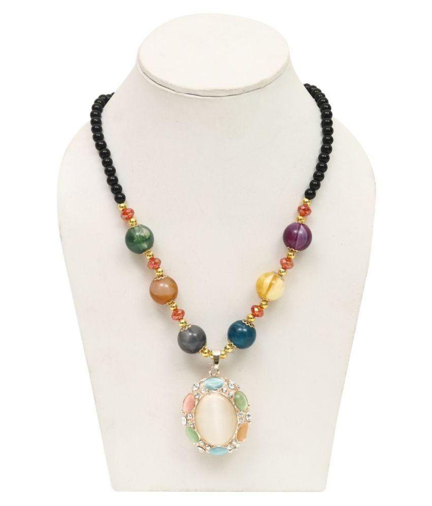 G M Internationl Multicolour Necklace