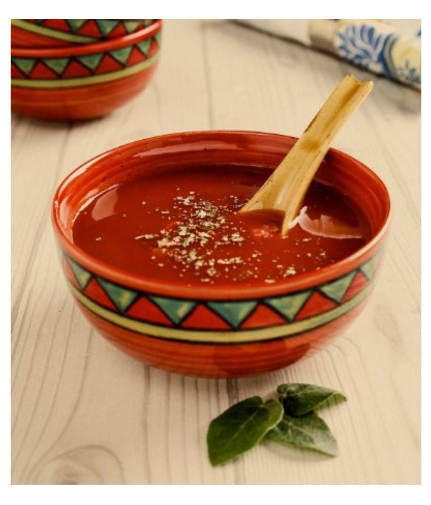 Unravel India Stoneware Soup Bowl - Set of 6
