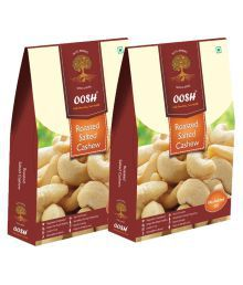 OOSH OOSH Roasted Salted Cashew Salted Cashew Nut (Kaju) Roasted & Salted 500 Gm Pack Of 2