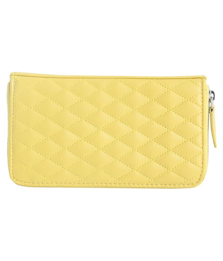 Oriflame Yellow Wallet