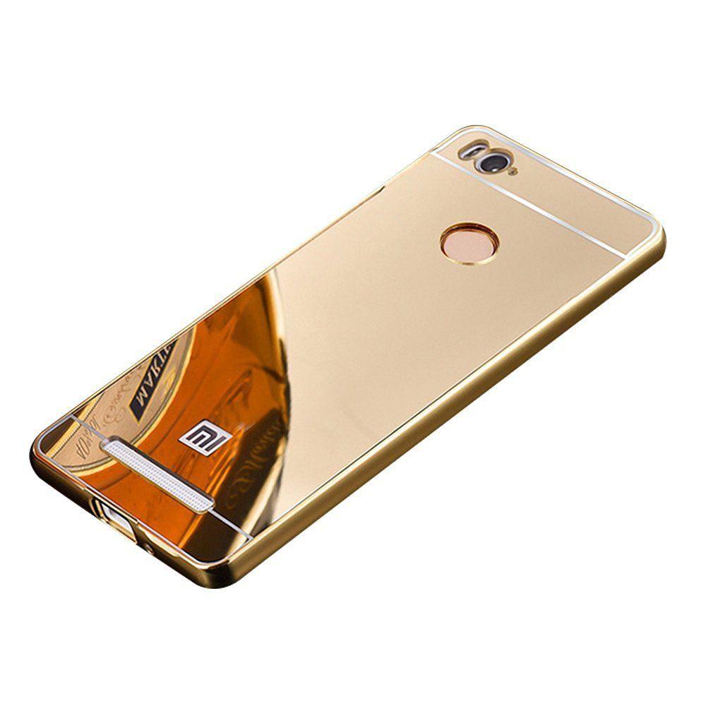 the latest 31d02 0edb3 Xiaomi Redmi 3s Prime Cover by Galaxy Plus - Golden