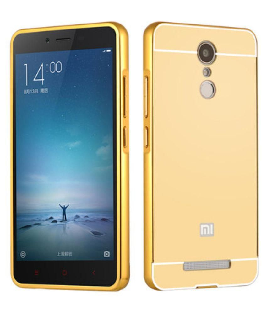 Xiaomi Redmi Note 3 Cover by Galaxy Plus - Golden