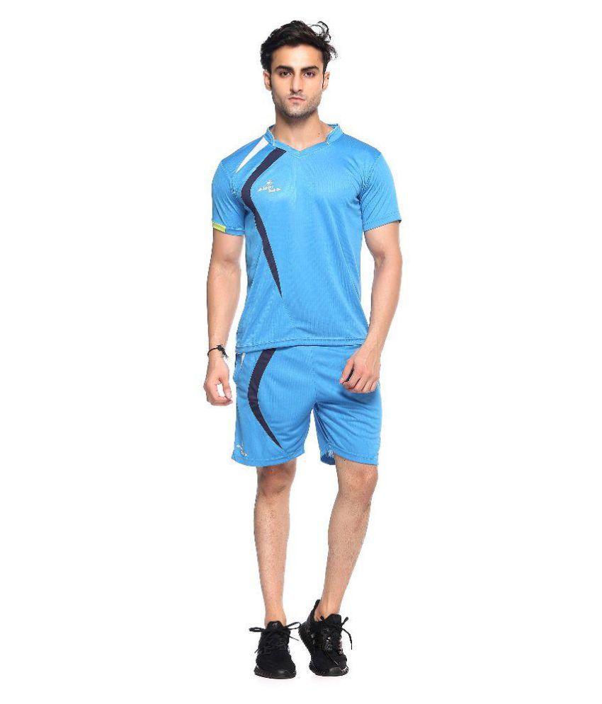 Sport Sun Blue T Shirt with Shorts