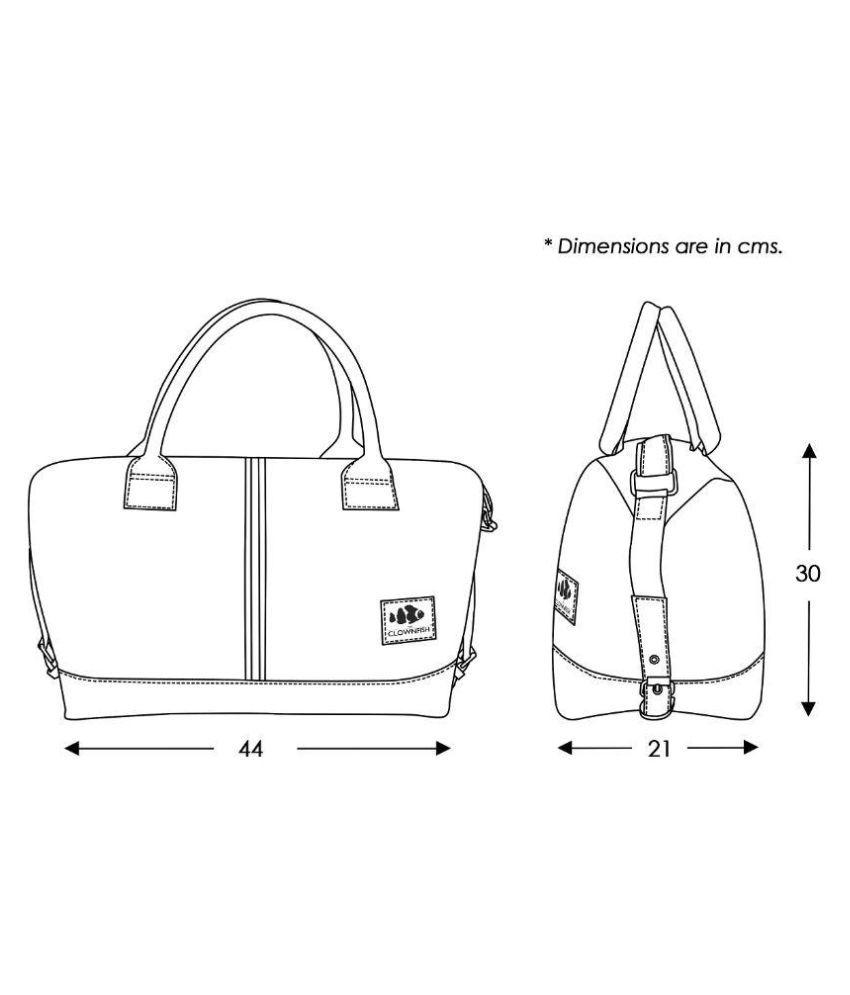 The Clownfish Blue Duffle Bag - Buy The Clownfish Blue Duffle Bag ...