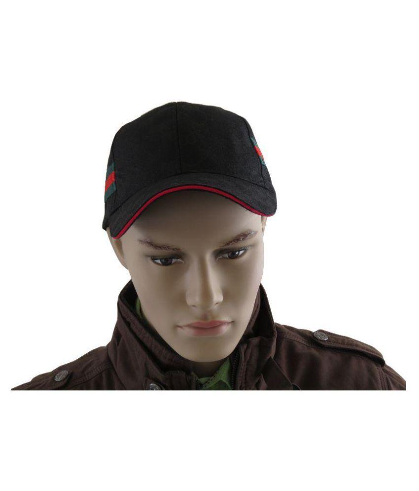 Modo Vivendi Black Embellished Cotton Caps