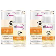 StBotanica Under Eye Gel Day Cream 30 Ml Pack Of 2