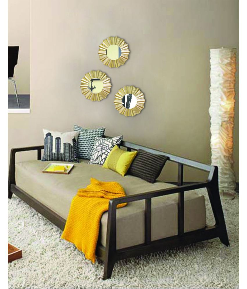 Hosley Decorative Wall Mirror Set Of 3 Buy Hosley Decorative Wall Mirror Set Of 3 At Best Price In India On Snapdeal