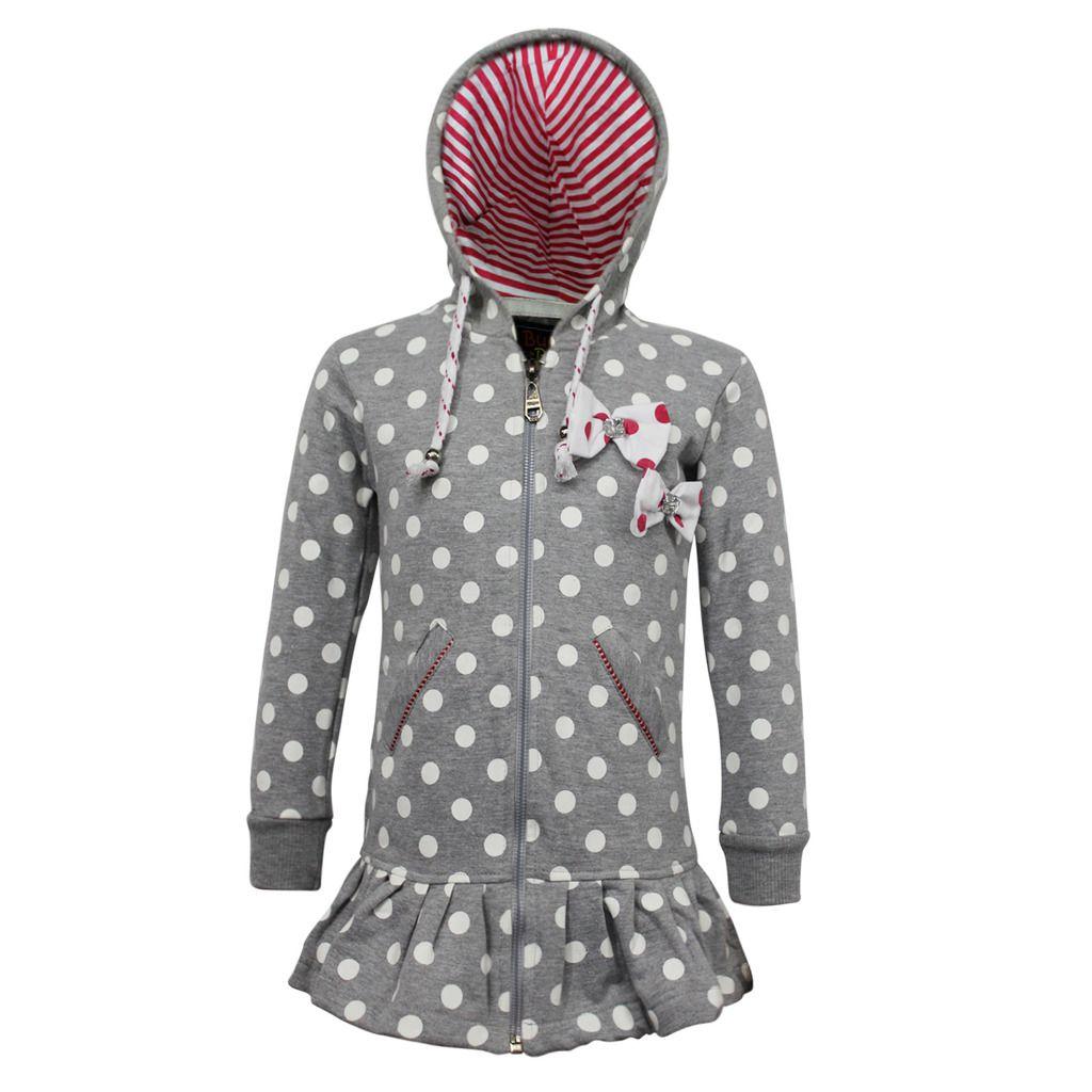 Kothari Grey Sweatshirt for Girls