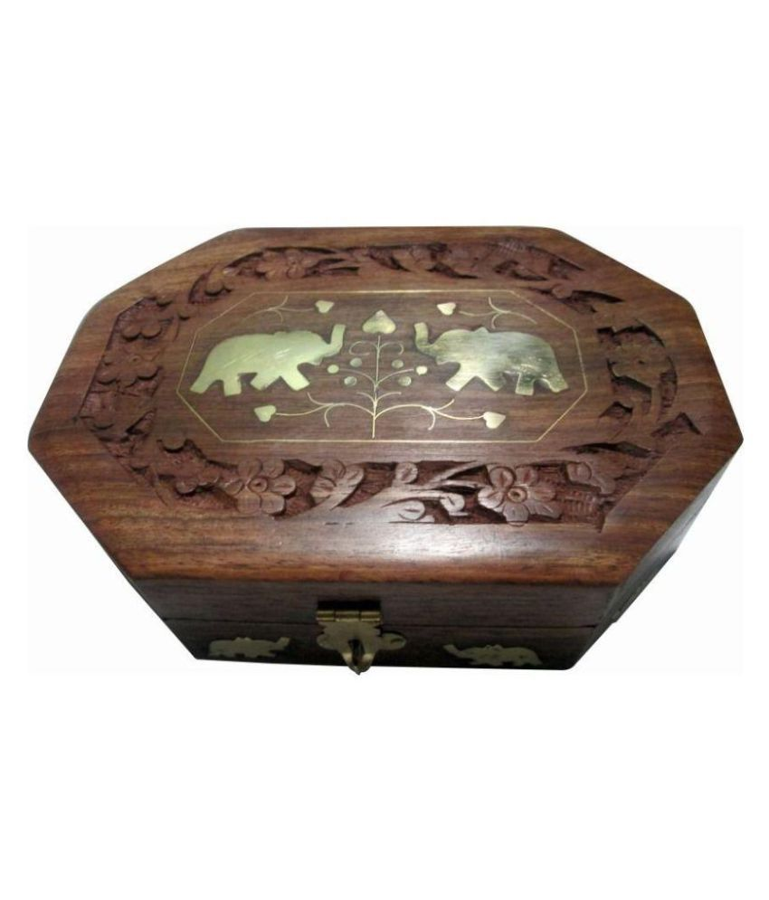 Preshi Brown Jewellery Box