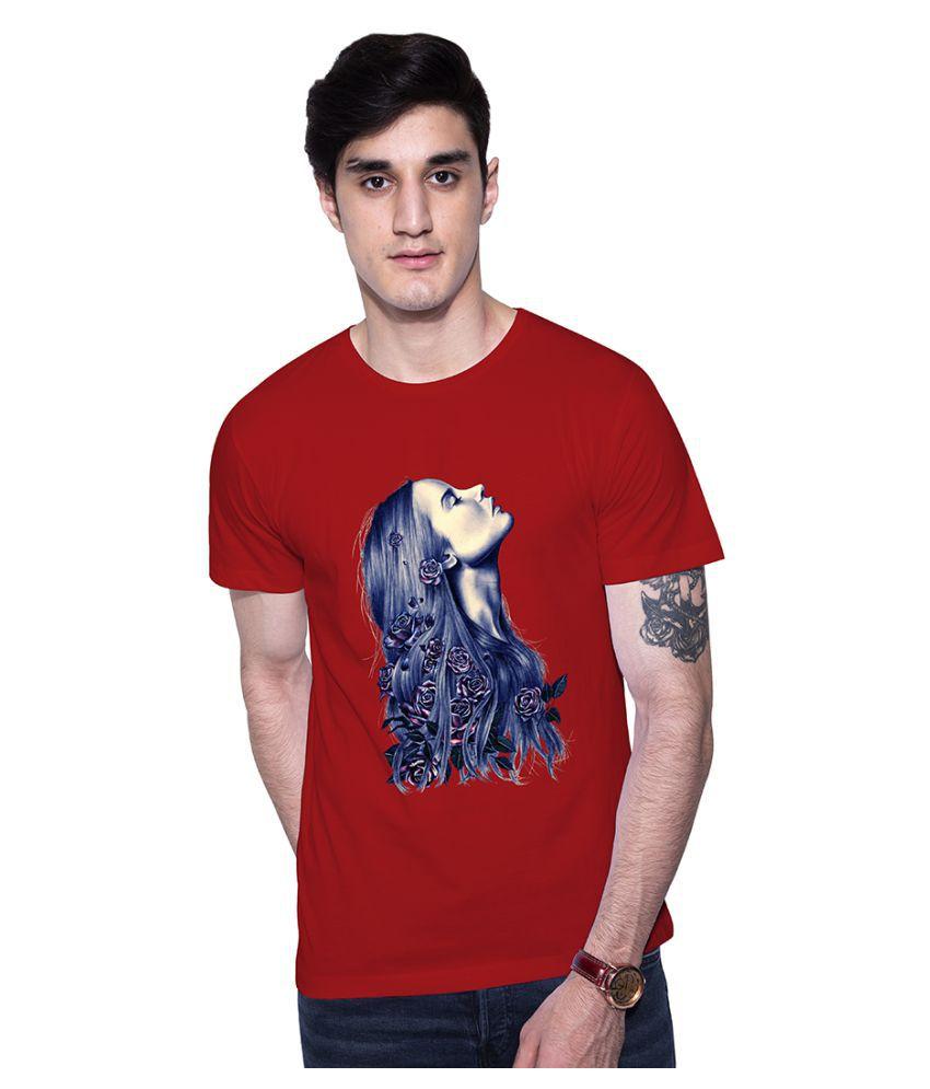 Uptown 18 Red Round T-Shirt