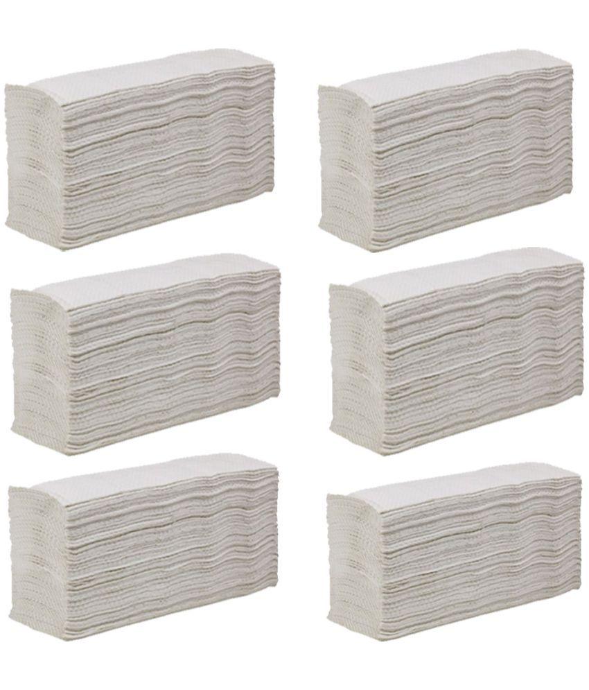 Ezee White Tissue Paper Napkins - 780 Pieces