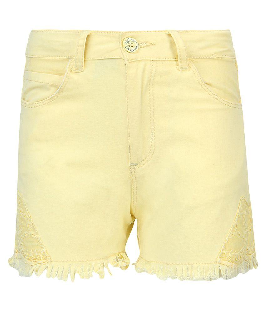 Nauti Nati Yellow Shorts