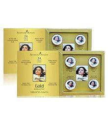 Shahnaz Husain Gold Facial Kit 80g- Pack of 2 (40g Each)