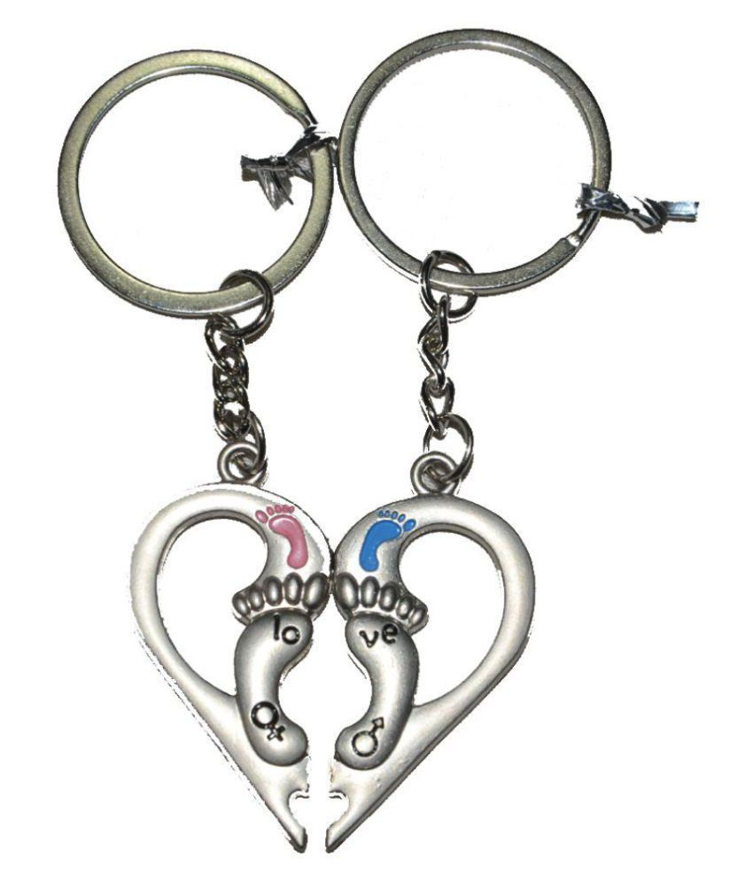 Worthy Shoppee Metal Keychain - Pack of 2