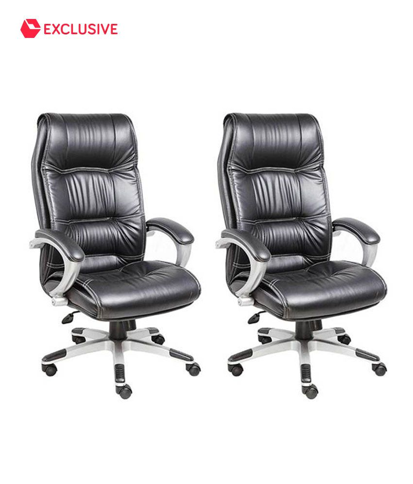 Buy 1 High Back Executive Chair Get 1 Free By Snapdeal @ Rs.6,999