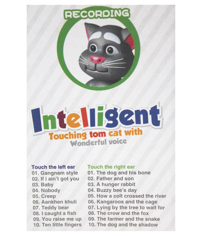 Scrazy Intelligent Talking Tom White Buy Scrazy Intelligent