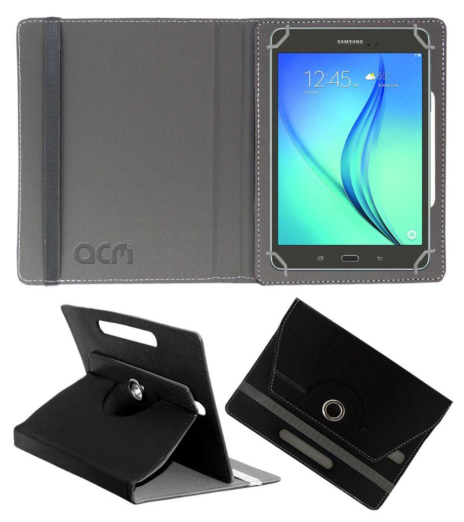 Samsung Galaxy Tab A T355 Flip Cover By ACM Black