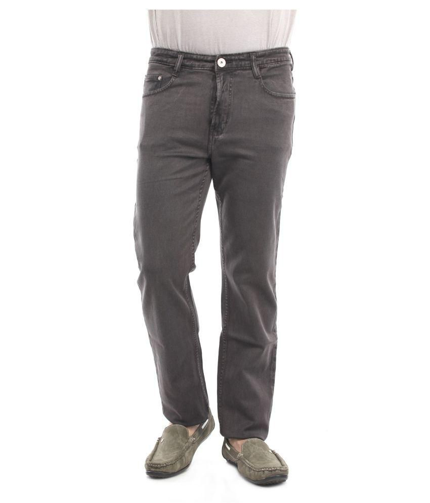 Thunder Grey Regular Fit Basic
