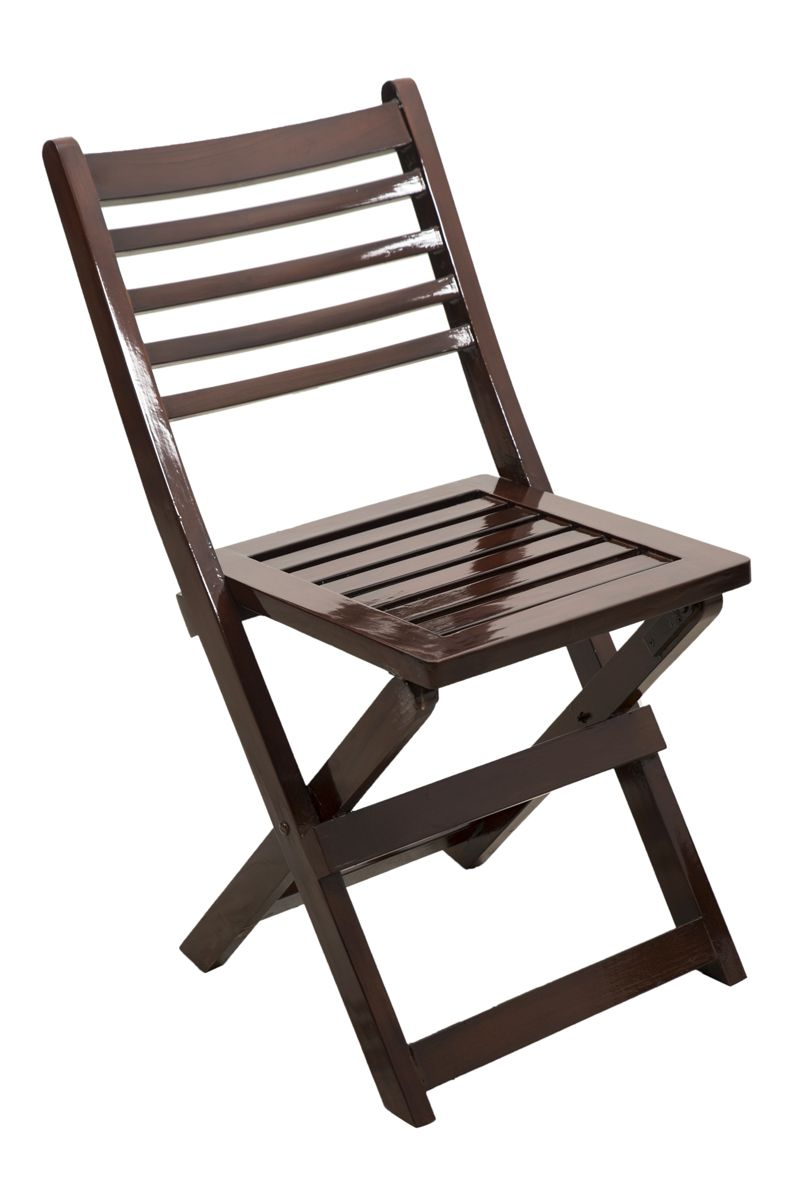 Spazer Wooden Folding Chair