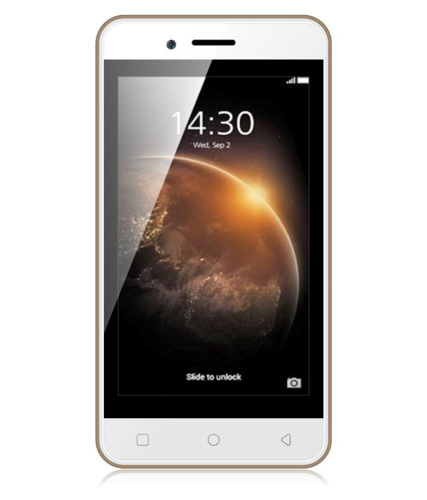 Karbonn Alfa A114 quad (champagne + white) Snapdeal Rs. 2579.00