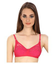 Secret Wish Pink Lace T-Shirt/ Seamless Bra - 650710363960